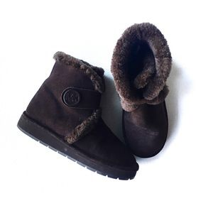 Michael Kors Sheep fur lined boots Size 8